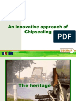2007 Approach of Chipsealing