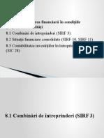 Tema_8_raportarea Financiara in Conditiile Grupurilor de Entitati