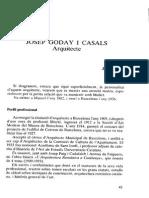 Biografía de Goday