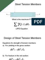 02 - Design of Steel Tension Members