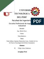 Video Relleno Sanitario Huaycoloro Lima - Modelo de Uso de Nuevas Tecnologías en El Perú (Comentario).
