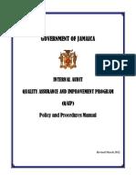 QAIP Manual2012 Jamaica