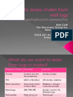 How to Assess Shales From Well Logs - March 2012 IOGA Talk