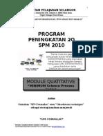 Program 2q Quantitative 2010 Edit