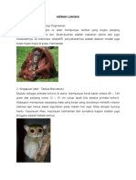 3 HEWAN & TUMBUHAN LANGKA INDONESIA.docx