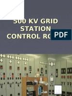 500kv Grid Station Control Room