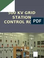 500kv Grid Station Control Room