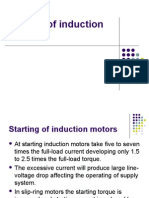 Starting of Induction Motors