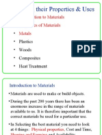 A Materials Properties Uses