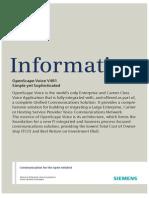OpenScape Voice V4 Data Sheet