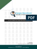 eBookCampusRecruitment-InnovateorPerish