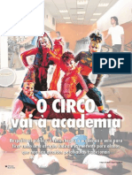 o Circo Vai a Academia