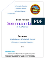 Book Review Semantics Palmer Pishtiwan
