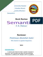 Book Review Semantics Palmer Pishtiwan