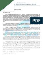 Caderno de Questões Banco Do Brasil