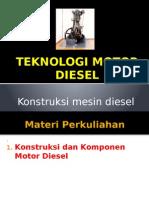 Kontruksi Mesin Diesel