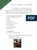 Determinación Del Peso Volumétrico Seco en Muestras Inalteradas(1)