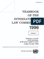 International LAW Comission 1996