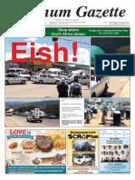 Platinum Gazette 06 February 2015
