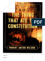 The Thing That Ate the Constitution