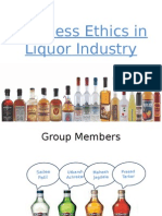 Business Ethics in Liquor Industry