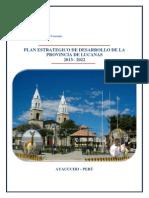 PlanEstrategicodeDesarrolloProvincialLucanas