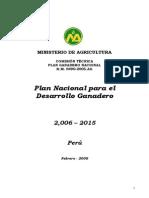 Plan Nacional Ganadero