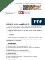 PLANO DE ACÇÃO DA BIBLIOTECA ESCOLAR 2009/2013