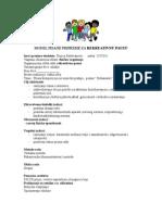 Model Pisane Pripreme Za Rekreativnu Pauzu (1)