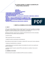 Normativ Privind Con Solid Area Cu Fibre a Elementelor Structurale de Beton