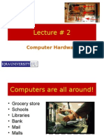 Computer Hardware (Lecture#2)