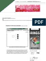 Raspberry Pi GPIO Home Automation