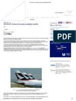In FOCUS_ Airlines Face Pilot-Availability Shortfall