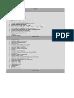 as whole course checklist