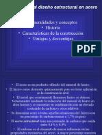 1.- Introducción Al Diseño de Estructuras de Acero