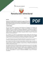modelo de Resolución de Saneamiento Contable