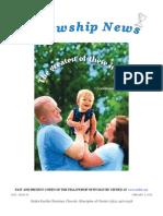 February 3, 2015 The Fellowship News