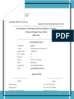 Course Plan CW 1.2 2015