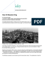 How Oil Became King