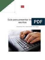Guía Para Presentar Trabajos Escritos