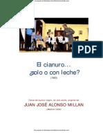 El Cianuro Solo o Con Leche.pdf Texto