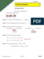 2-4-8 as Factors 5B012_key