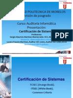 Certificacion de Sistemas UPMOR