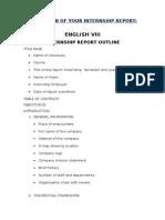 Internship Report Sample (1)
