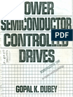Power Semiconductor Controlled Drives By Gopal K Dubey Pdf