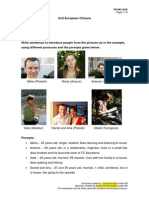 European Citizens - English Teaching Materials for  Adult Education