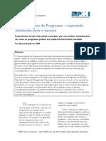 Gerenciamento de Programa em Projetos
