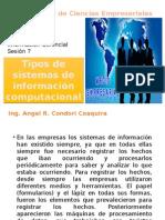 Sesion 07 - Tipos de sistemas de información computacional