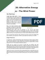 Lecture20-AlternativeEnergyResources-WindPower