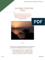 Isaac Luria y Hayyim Vital